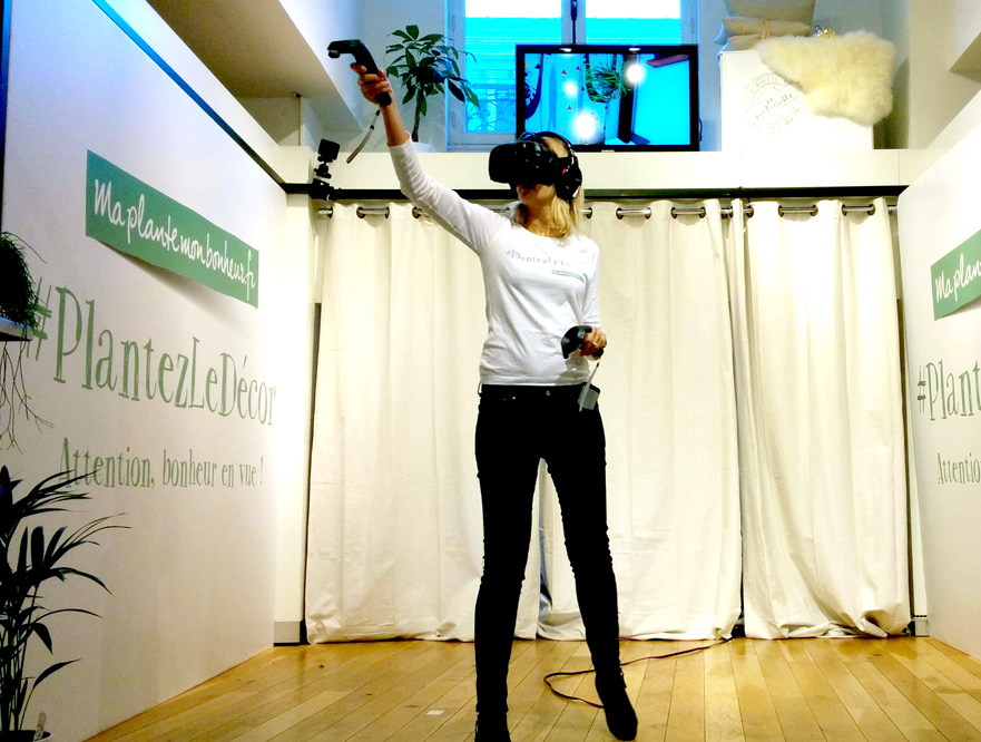 VR Experience @Galeries Lafayette for OHF