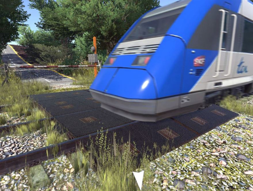 Training in VR for railway workers